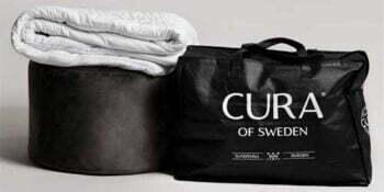 Reklamfilm för Cura tyngdtäcke