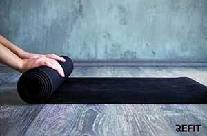 9 Produkter som hjälper dig sova gott - Träningsredskap yogamatta