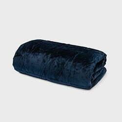 Cura Minky Blå produktbild - recension Cura tyngtäcke