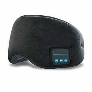Sovmask med trådlösa hörlurar från Smartasaker